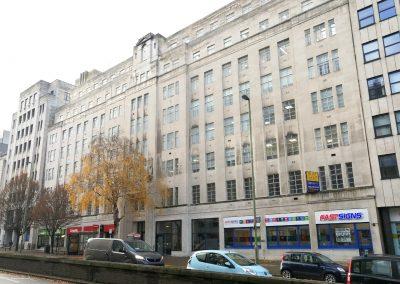Birmingham's landmark building fronting Great Charles Street Queensway