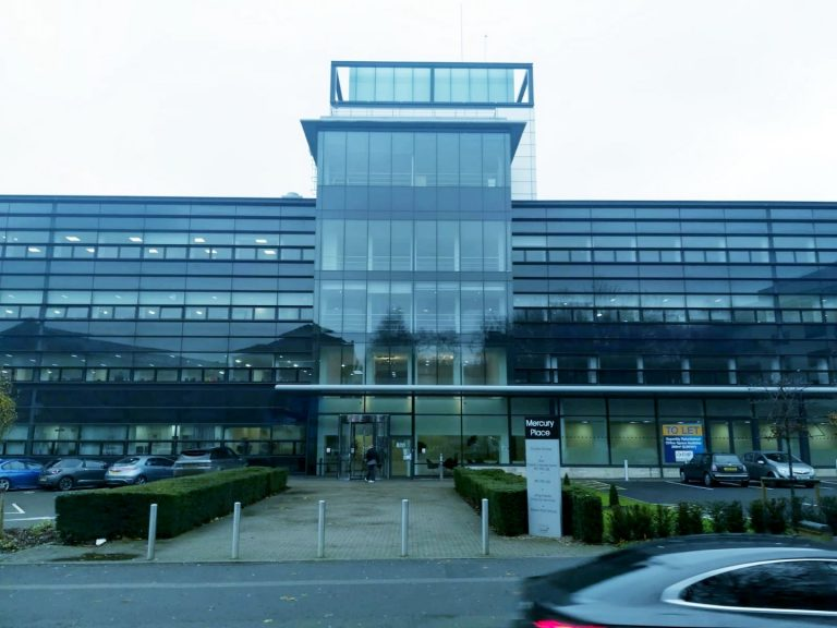 Modern office building in the heart of Leicester