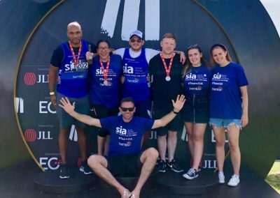 Record number of Hemlow employees take on property triathlon!