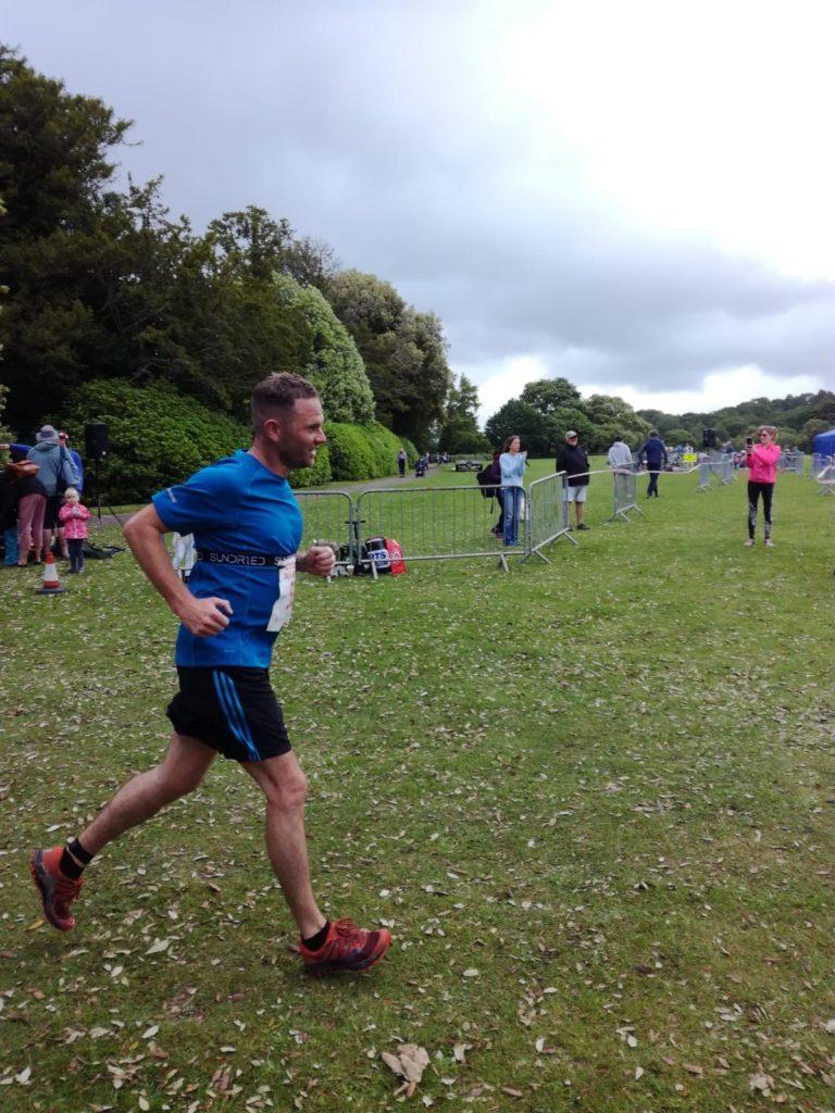 Chris' triathlon