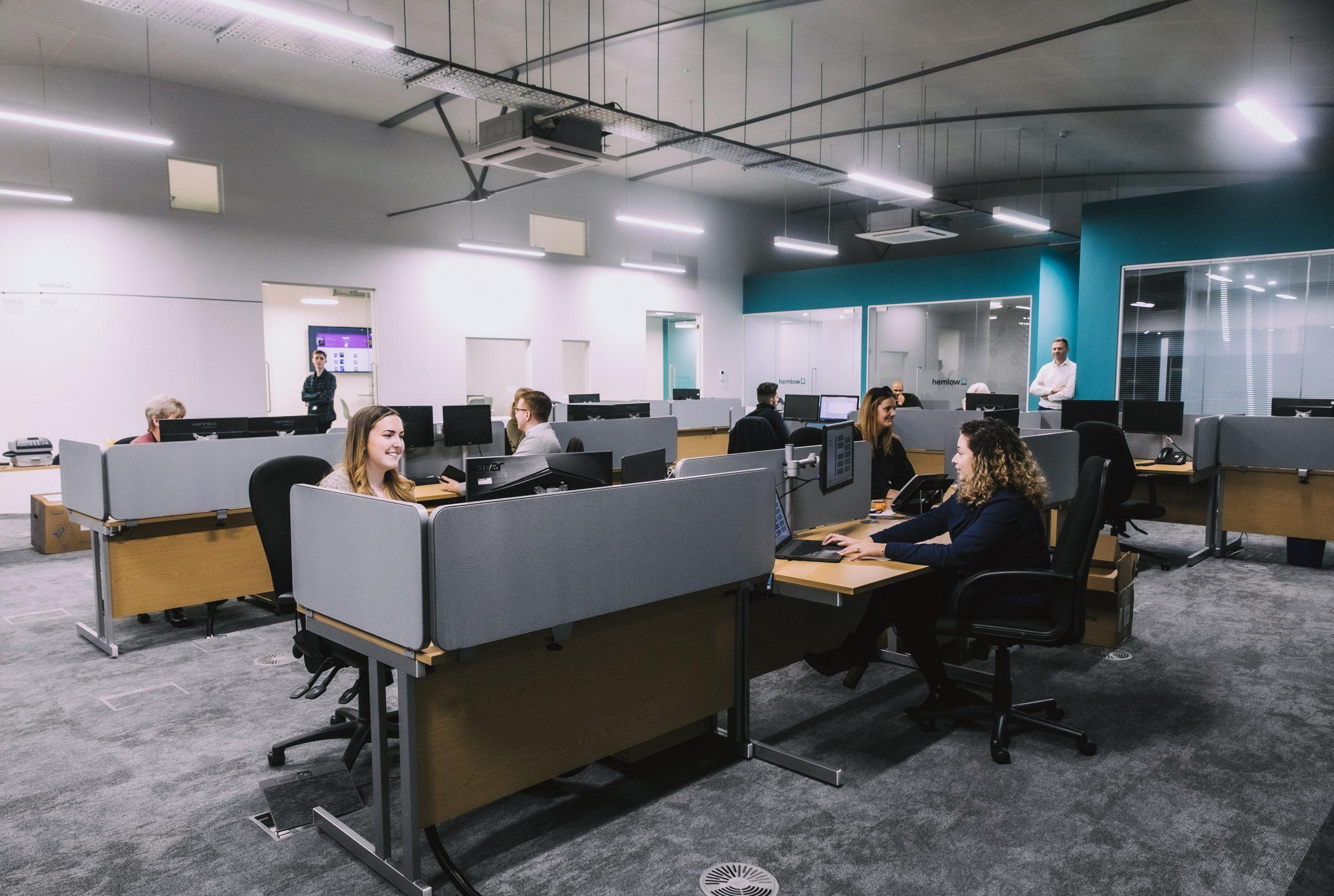 Hemlow open plan office